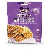 belgian waffles packaged - Belgian Boys Original Waffle Chip 4.23oz Bag