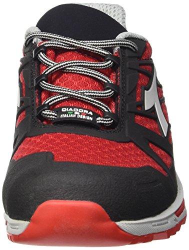 Nero Lavoro Rosso Scarpe da O1 Rosso Low Uomo Fiamma Diadora Trail FO D HRO 68qOwqB