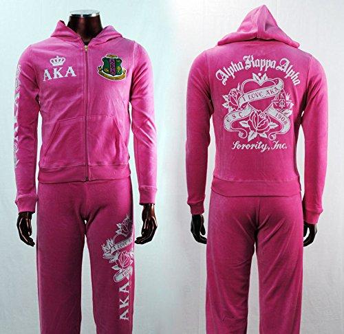 新しい。アルファKappa Alpha Warm Up WomensジョギングTrack Suits 2 X L B079WQJZ7X