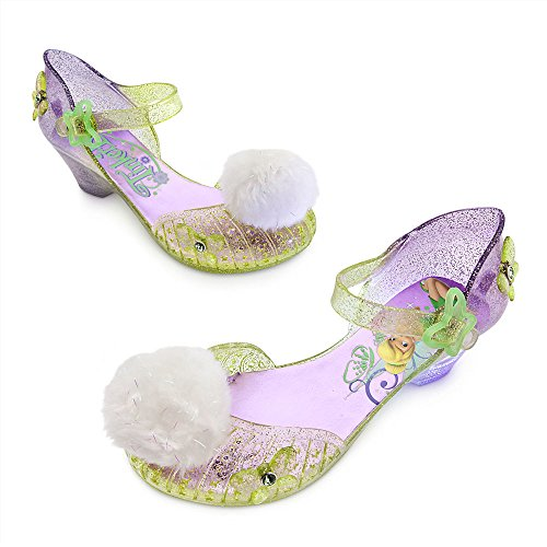 Disney Store Deluxe Tinkerbell Light Up Shoes Toddler Size 9 / 10 Tinker Bell (Disney Toddler Deluxe Tinker Bell Costumes)