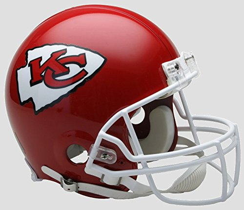 NFL Kansas City Chiefs Full Size Proline VSR4 Football Helmet -