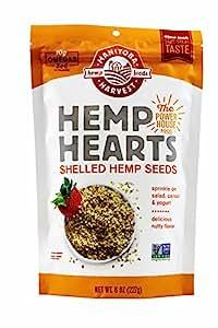 Manitoba Harvest Hemp Foods & Oils - Hemp Hearts Raw Shelled Hemp Seeds, , 8 ...