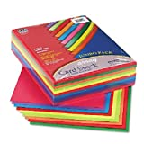 Array Card Stock, 65 lbs., Letter, Assorted Lively Colors, 250 Sheets/Pack, Sold as 250 Sheet