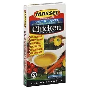Amazon.com : MASSEL Gluten Free Salt Reduced Chicken Style ...