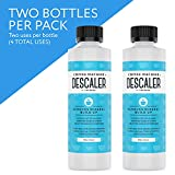Descaler (2 Pack, 2 Uses Per Bottle) - Made in the