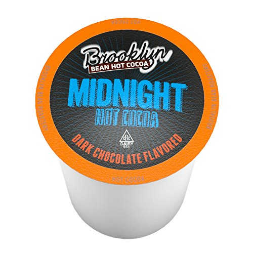 - Brooklyn Beans Midnight Dark Chocolate Hot Cocoa Pods for Keurig K Cup Brewers, 40 Count