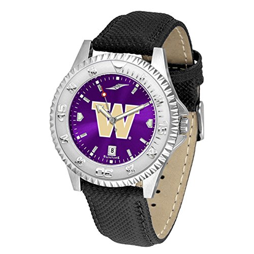 Linkswalker Mens Washington Huskies Competitor Anochrome Watch
