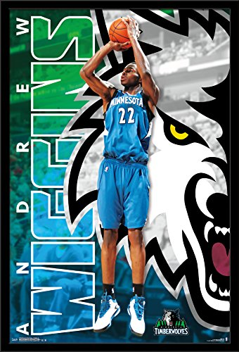 Trends International Wall Poster Minnesota Timberwolves Andrew Wiggins