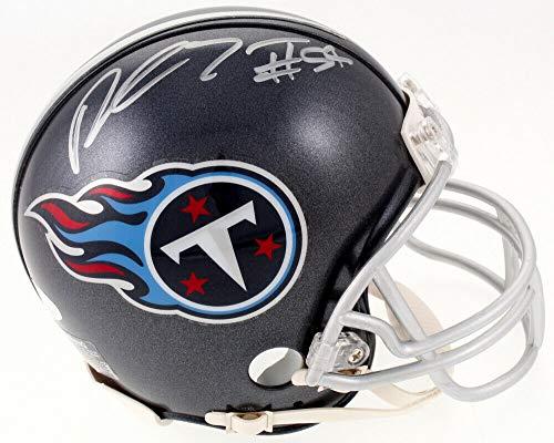 Rashaan Evans Autographed Signed Memorabilia Tennessee Titans Mini Helmet - JSA Authentic ()