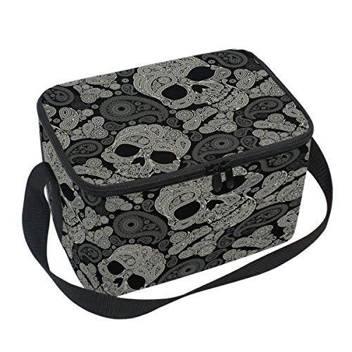 Naanle Abstract Star Unicornio aislado cierre bolsa de almuerzo bolsa refrigerador bolsa para adultos adolescentes niños...