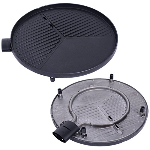 Giantex 1350W Electric BBQ Grill Non-stick w/ 4 Temperature Setting Outdoor Garden Patio Camping by Giantex (Image #5)