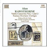 Rawsthorne Violinkonzert 1 und 2 Frie