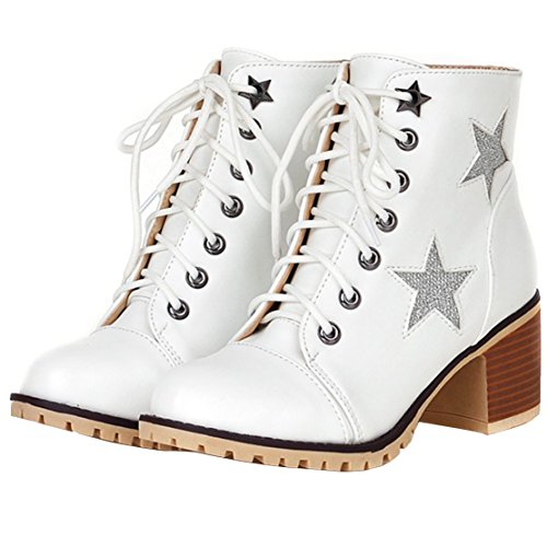 Classic Boot Boot AIYOUMEI Women's Classic Women's AIYOUMEI White wXCTqxz