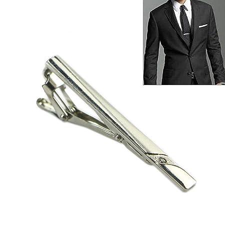 Haptian Multi Estilo Caballero Metal Simple Corbata Corbata Clip ...
