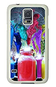 Samsung Galaxy S5 Colorful 3D Abstract Art PC Custom Samsung Galaxy S5 Case Cover White