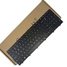 15 3000 Keyboard with Frame and Backlight, SUNMALL laptop Notebook Replacement Keyboard for Dell Inspiron 15 3000 3541 3542 3543 3551 3558 3559 5000 5542 5545 5547 5555 5558 US Layout.