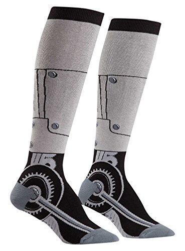 Sock It To Me, Knee High Funky Socks: Science and Space (Women's Knee Funky: Toe-tal Recall) -