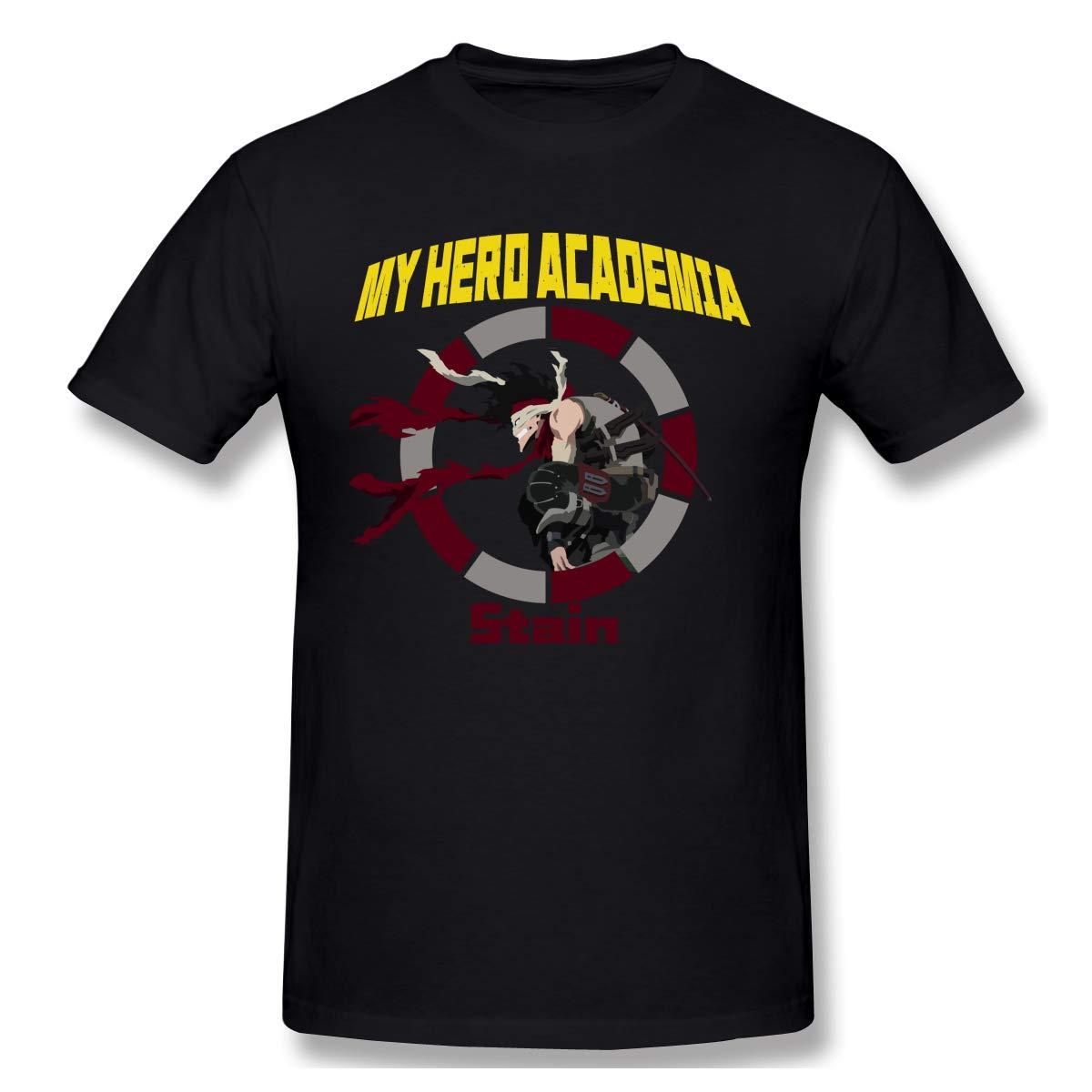 Crk008 T Shirt With My Hero Academia Anime Short Sleeve Stain Akaguro Chizome