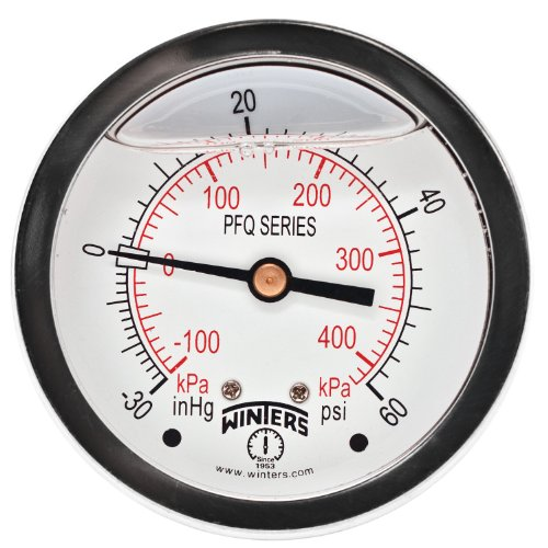 Winters Instruments PFQ Series Stainless Steel 304 Dual S...