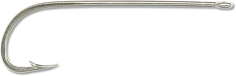 Mustad 92611-NI-2/0-27 Hooks Long Shank Beak Nickel Size 2/0 Poly Bag 8 per pack
