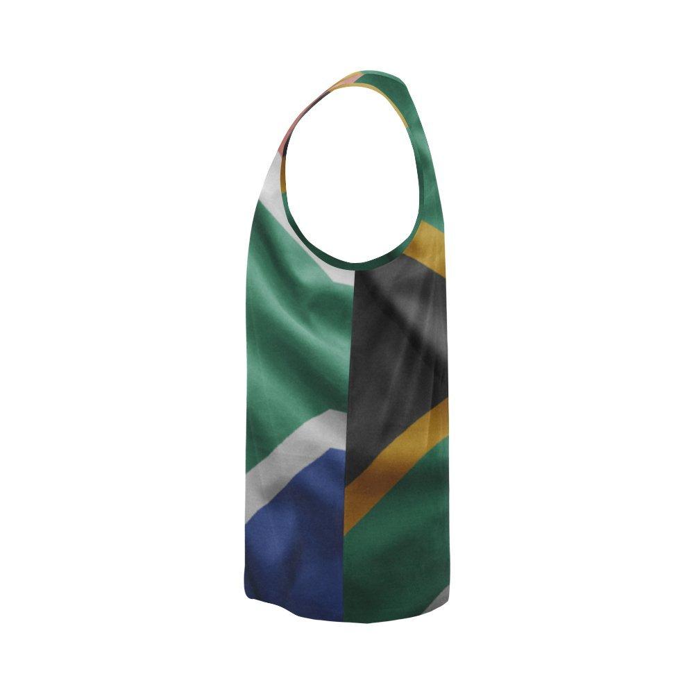 Lumos3DPrint South Africa Flag Mens Tank Top
