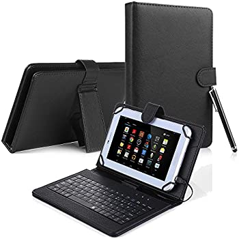 T-Mobile LG G Pad X2 8.0 Plus/Sprint G Pad F2 8.0 Case, Slim Stand PU Leather Cover With Keyboard For LG G Pad X2 8.0 Plus V530/Sprint G Pad F2 8.0 LK460 ...