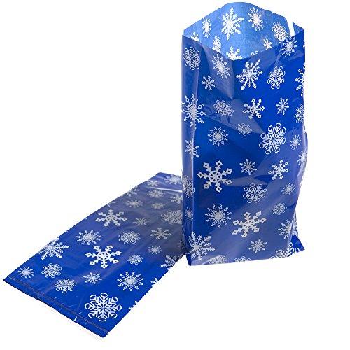 Snowflake Cellophane Bags - 8