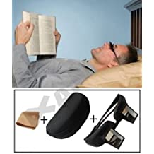 Andux Periscope Glasses easy Lie down on the bed for reading book holder bookstand WITH CASE AND cloth LR/02