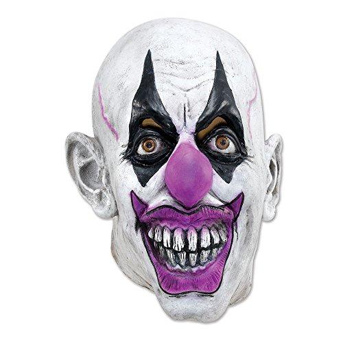 Bristol Novelty BM345 Scary Clown Mask, One Size ()