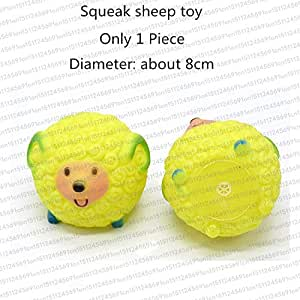 Amazon Com Rubber Squeak Toy For Dog Screaming Chicken