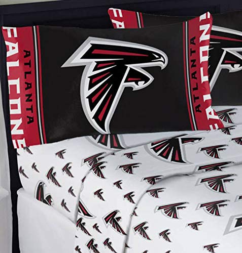 Northwest NFL Atlanta Falcons Mascot Full Sheet Set ()