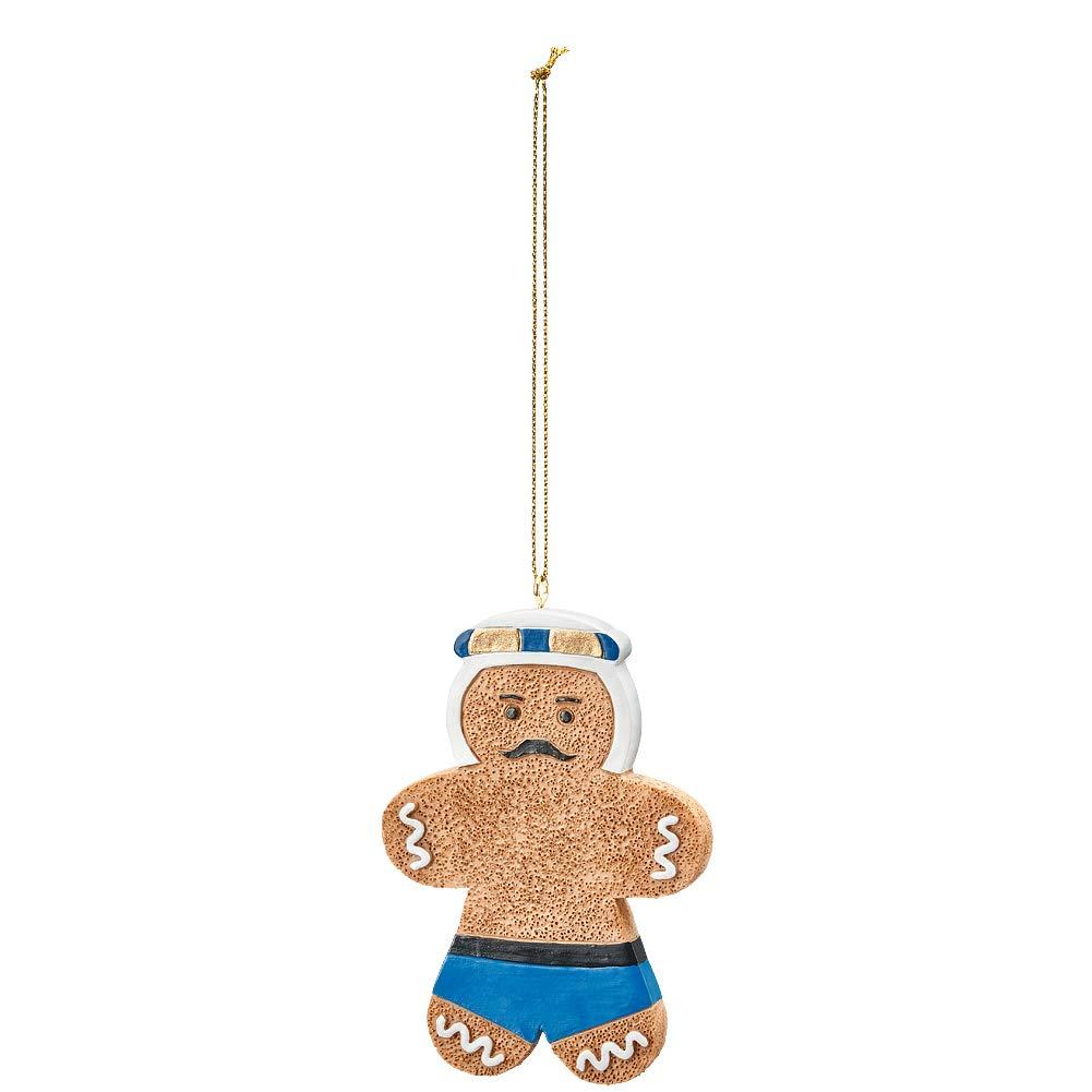 WWE Iron Shiek Gingerbread Ornament
