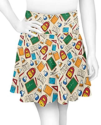YouCustomizeIt Math Lesson Skater Skirt (Personalized)