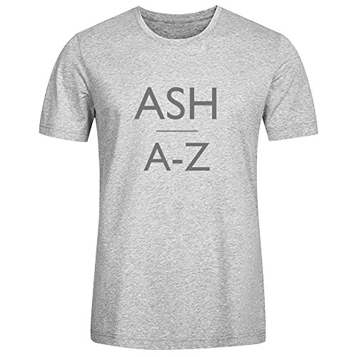 Ash A Z Tee Shirts For Men Grey (Girl Named Jack compare prices)