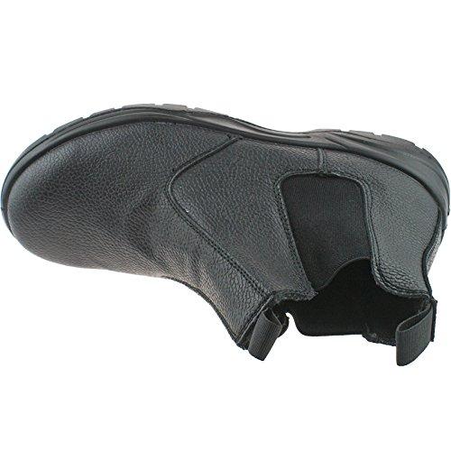 Grafters - Botas para hombre negro negro