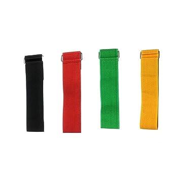 NUOBESTY Cuerda de Corbata elástica para el Juego de Carreras de ...
