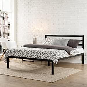 Zinus Modern Studio 14 Inch Platform 1500H Metal Bed Frame/Mattress  Foundation/Wooden Slat