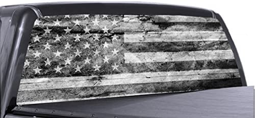 American Distressed Window Perforated Graphic product image