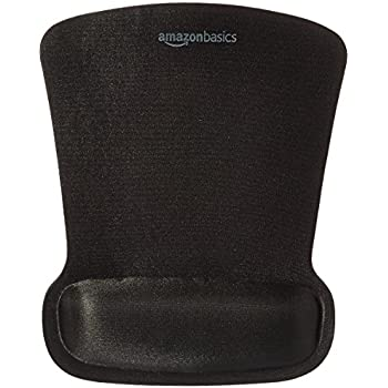 AmazonBasics SBD089WD  Gel Mouse Pad with Wrist Rest