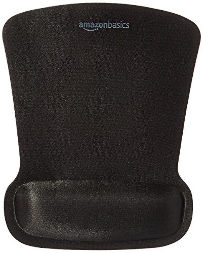 AmazonBasics Gel Computer Mouse Pad with Wrist Support Rest ()