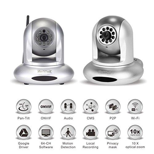 Hentek Wireless Network Surveillance Silver HK PT303P2P product image