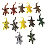 12pcs 3'' Plastic Crocodiles Animals Model Kids Child Party Bag Fillers Toy