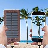 Solar Charger Power Bank 24000mah Huge Capacity