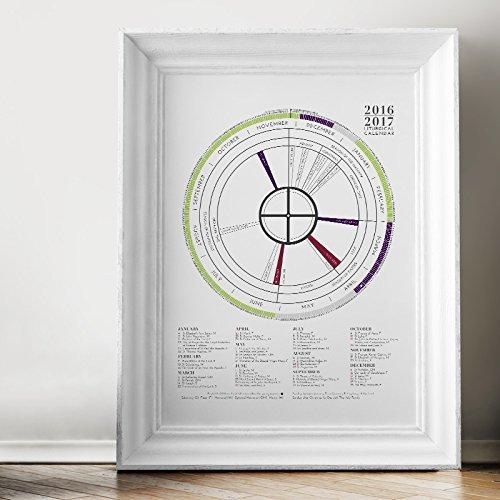 At-A-Glance Liturgical Calendar by Telos Design, LLC