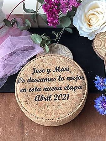Set de vino completo y Personalizado con el nombre que quieras, con abrebotellas, decantador, dosificador, recoge gotas, estuche completo para regalar a los amantes del vino, Uvimark