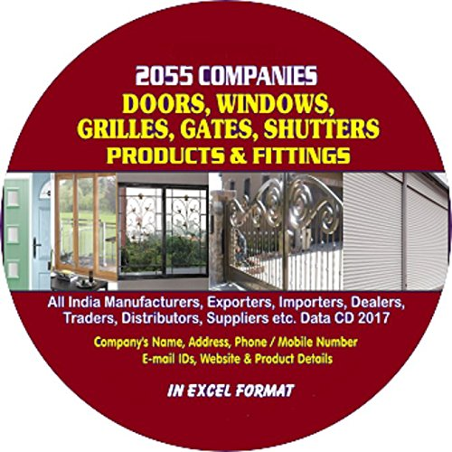 Doors, Windows, Grilles, Gates, Shutters Products & Fittings Companies Data