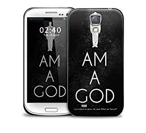 I Am A God Yeezus Kanye West Samsung Galaxy S4 GS4 protective phone case