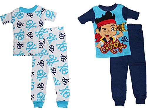 Disney Jake and the Neverland Pirates Little Boys 2-Pack Pajamas (5T)