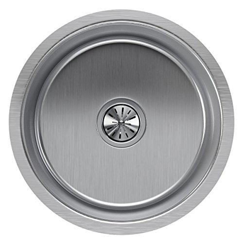 Elkay Lustertone ELUH16FB Single Bowl Undermount Stainless Steel ()