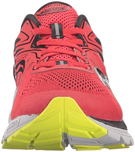 Saucony Swerve Mens (8 USA – 41 EUR) (Red/Black/Citron)